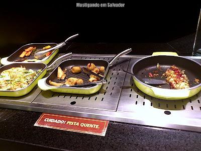 Thai Wok: Opções do buffet