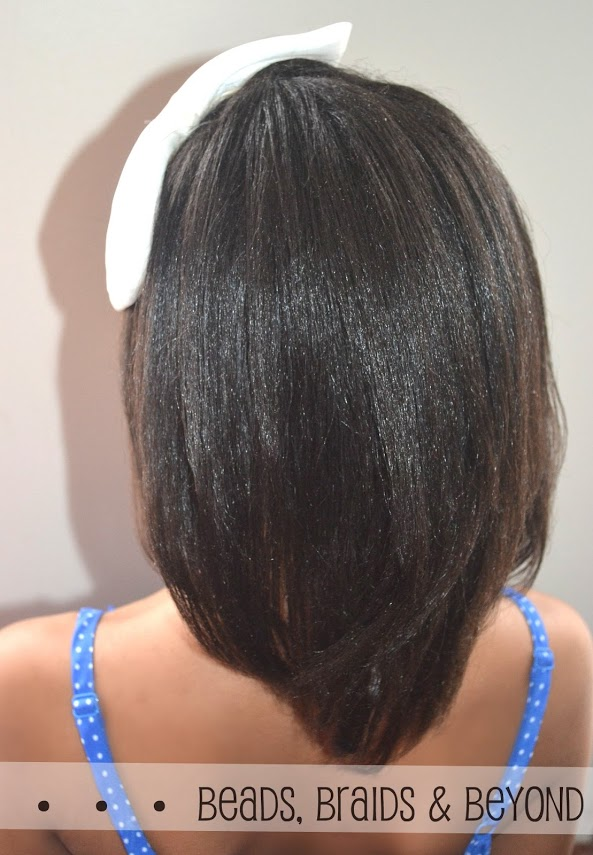 how to keep thick hair straight after straightening
