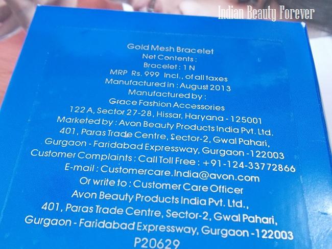 Avon Gold mesh Bracelet