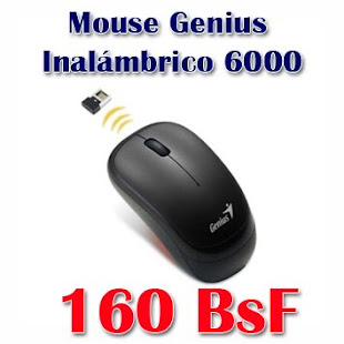 Mouse Genius Inalámbrico 6000