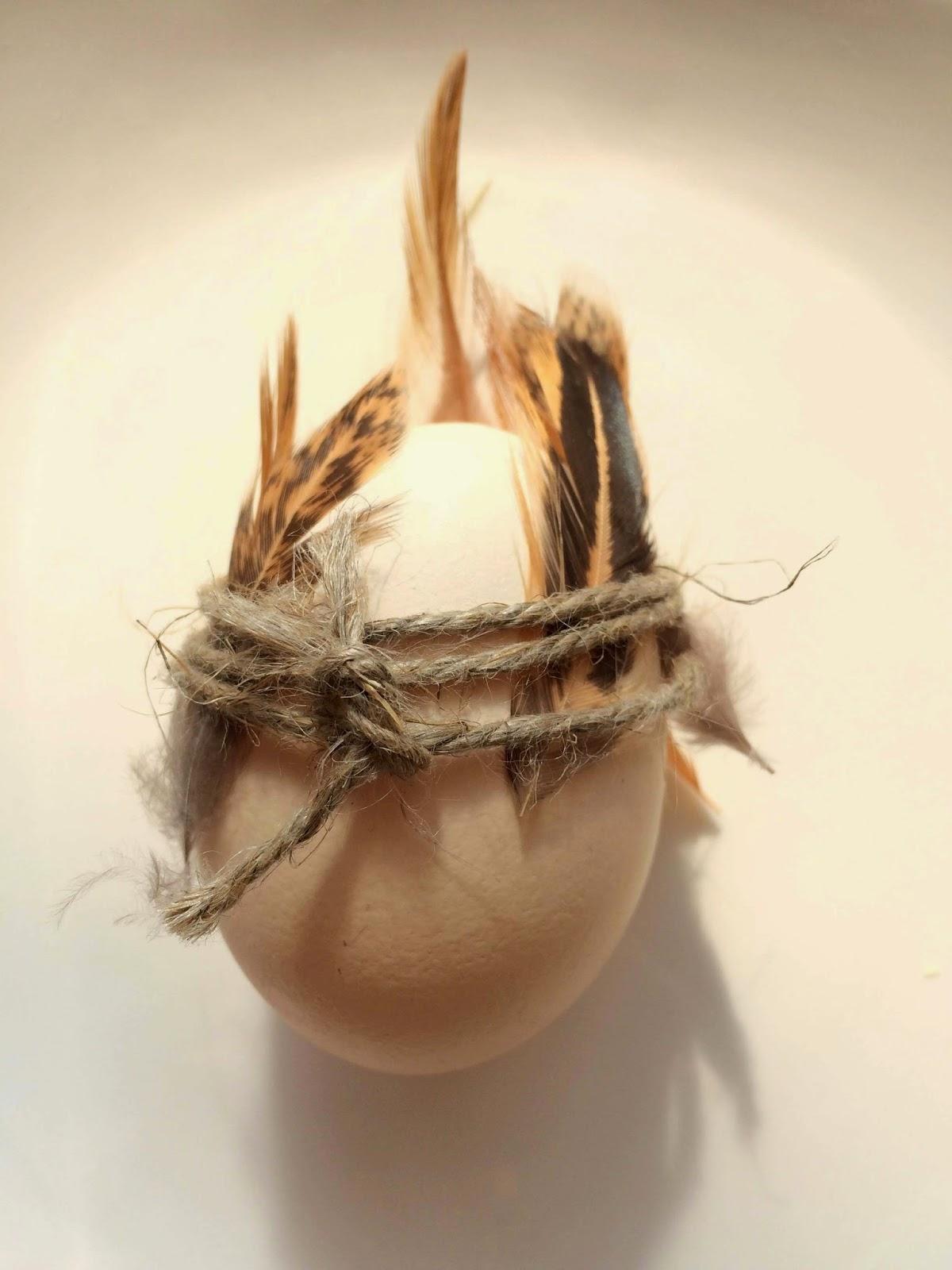 Pomysł na naturalne jajka wielkanocne