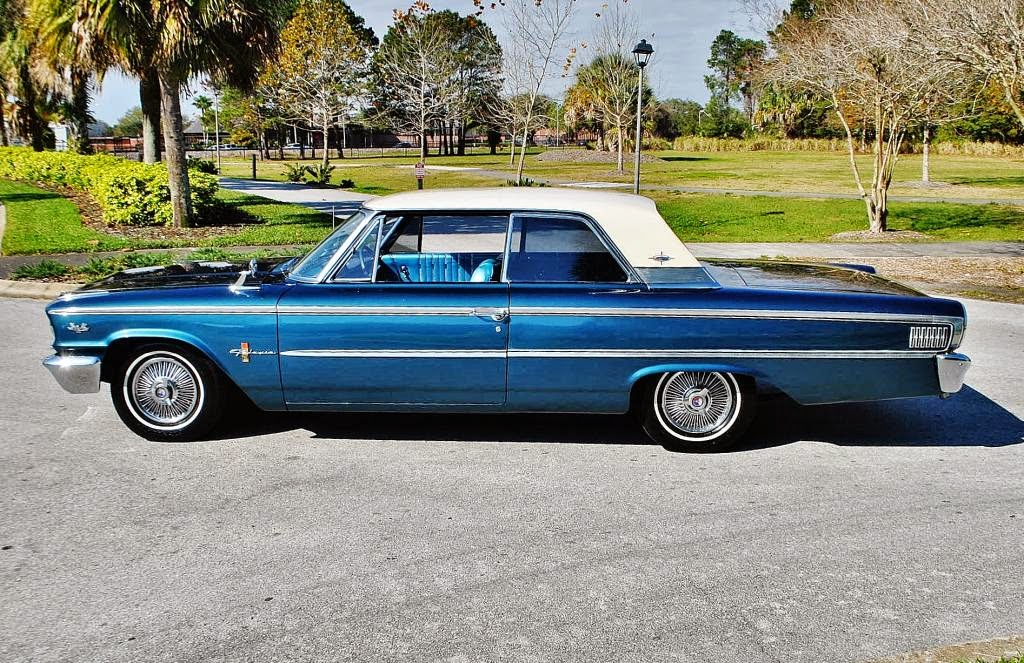 All american classic cars 1963 ford galaxie 500 xl 2 door hardtop
