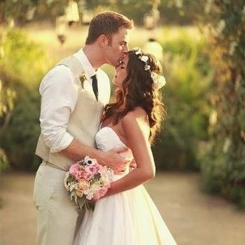 Младоженци на Фотосесия