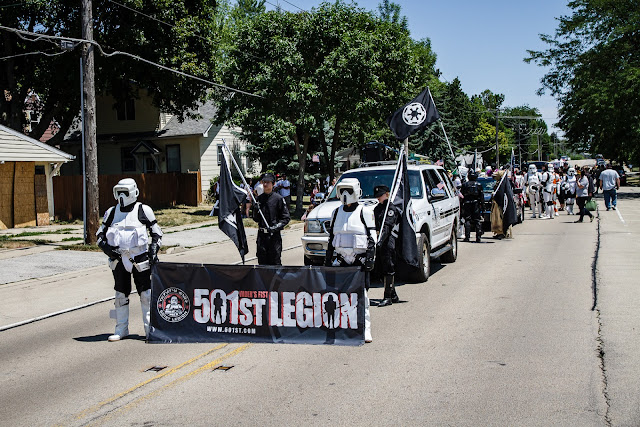 The 501st Legion at the Bartlett Parade