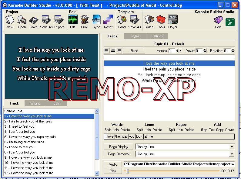 Karaoke builder software download