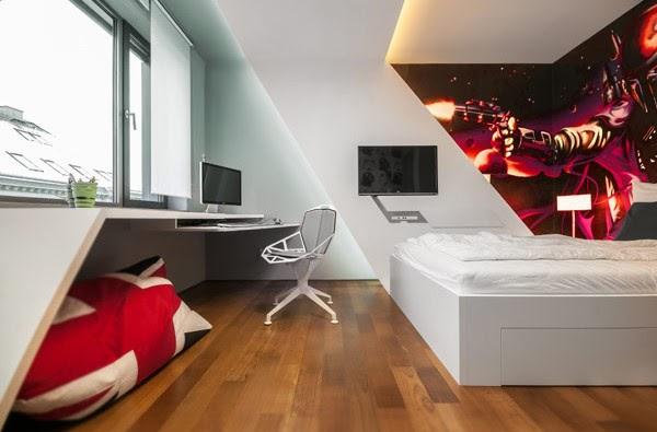 532 صور ديكورات غرف نوم شبابية حديثة