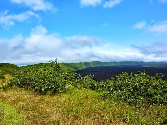 Sierra Negra Volcano Crater Isabela Island