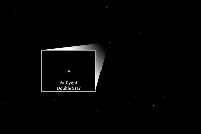 61 Cygni, Double Star in Cygnus