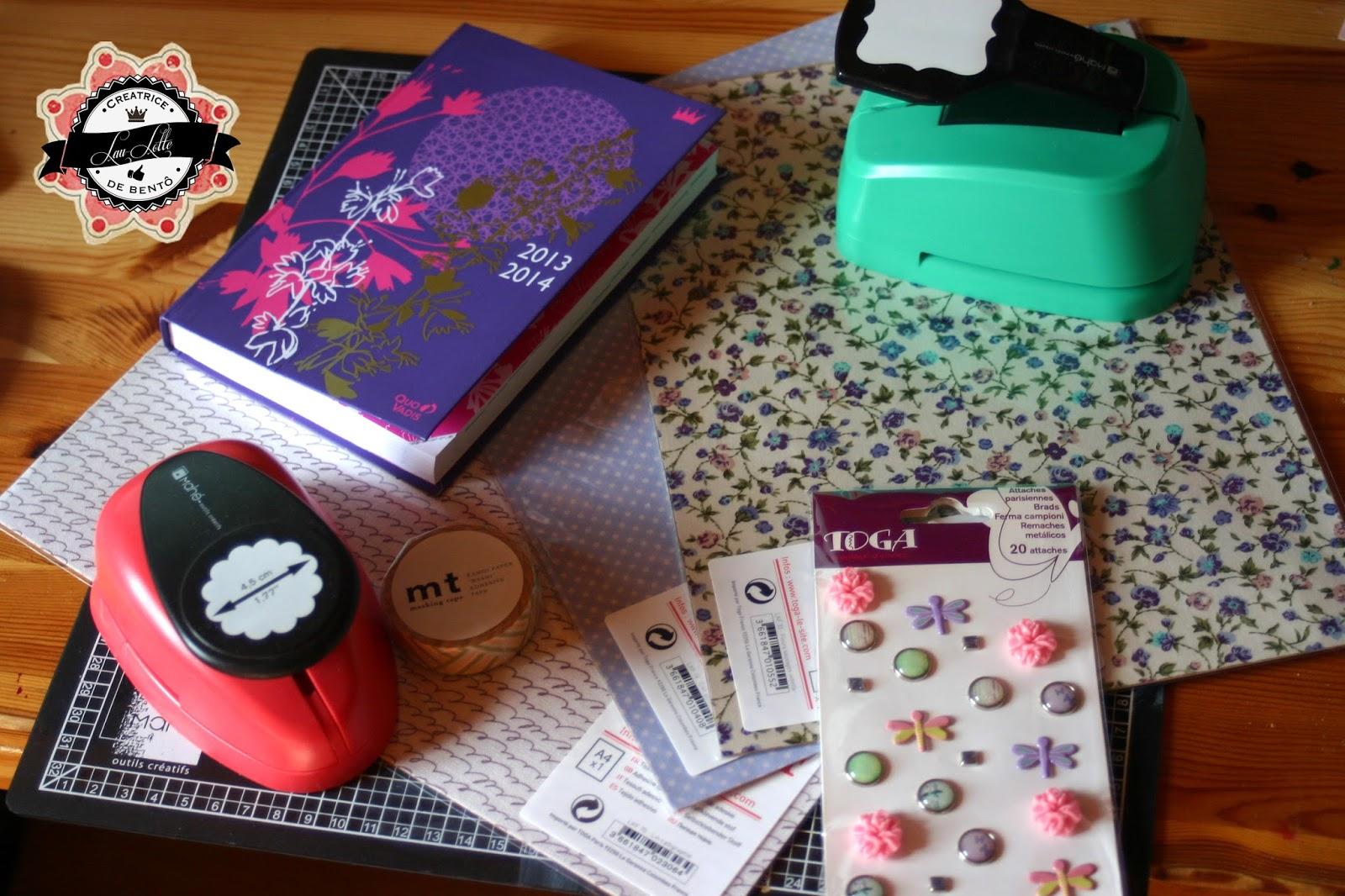 Hervorragend DIY :: Customiser son agenda pour la rentrée - Les Folies de Lau-Lotte ET39