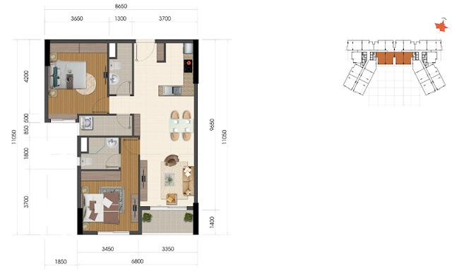 Dự án The Everrich Infinity Quận 5 căn hộ 3