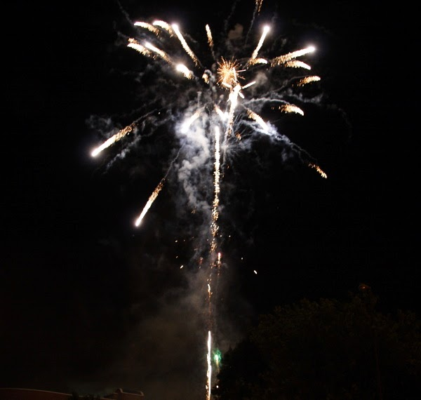 What Date are the Gillingham Great Lines Fireworks in 2014?