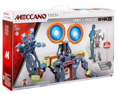 JUGUETES - Meccano Tech  Meccanoid - G15 KS Personal Robot | 122 cm  Producto Oficial 2015 | Piezas: 1188 | Edad: + 10 años  Comprar en Amazon