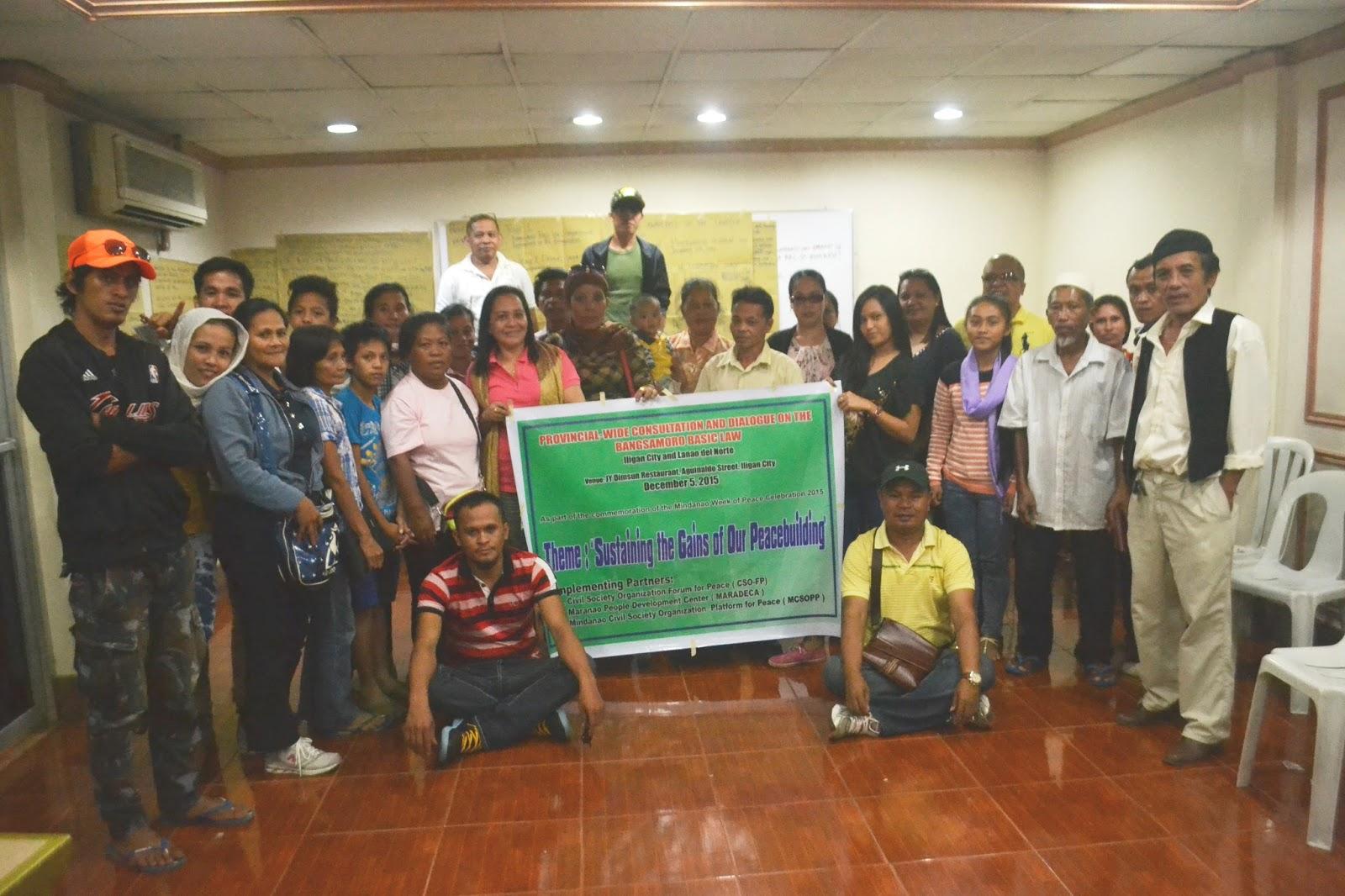 Lanao Blog News Lanao Celebrates Mindanao Week Of Peace Bbl