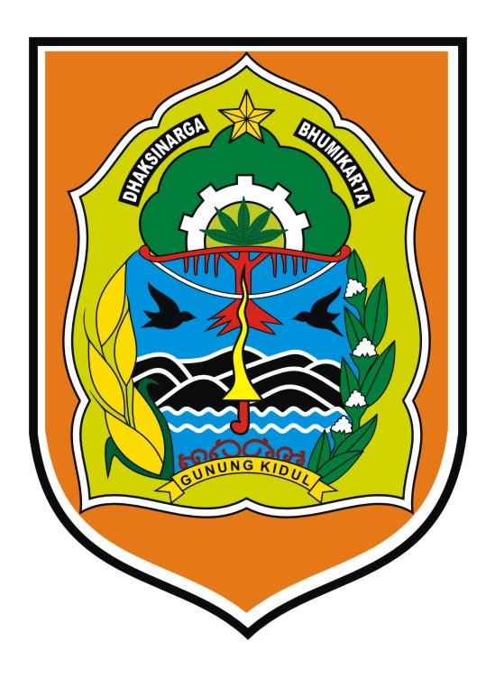 logovectorcdr logo kabupaten gunung kidul
