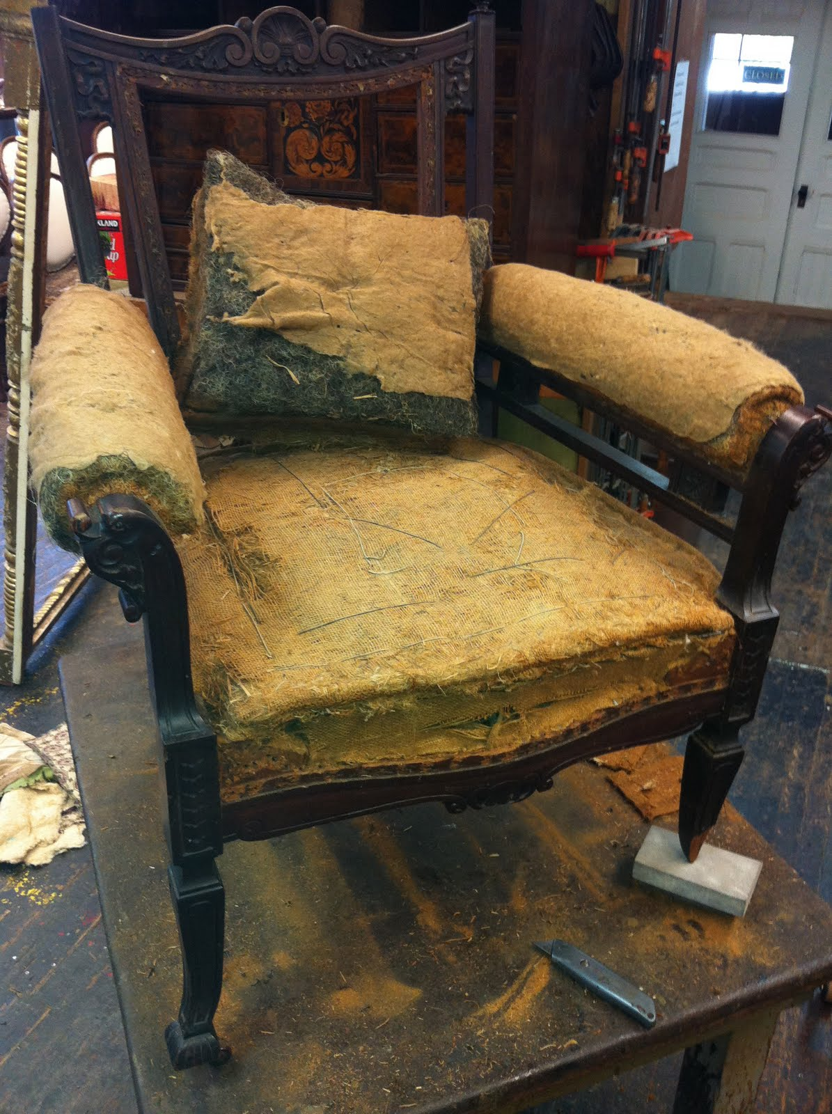 Typical Upholstery Project