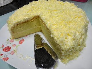 Resepi kek cheese meleleh simple