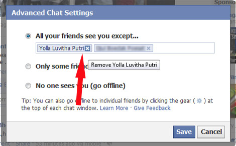 facebook how to appear offline chat