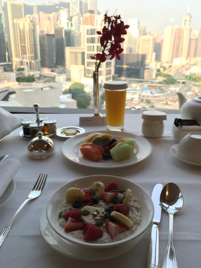 Hotel Breakfast Grand Hyatt Hong Kong Continental