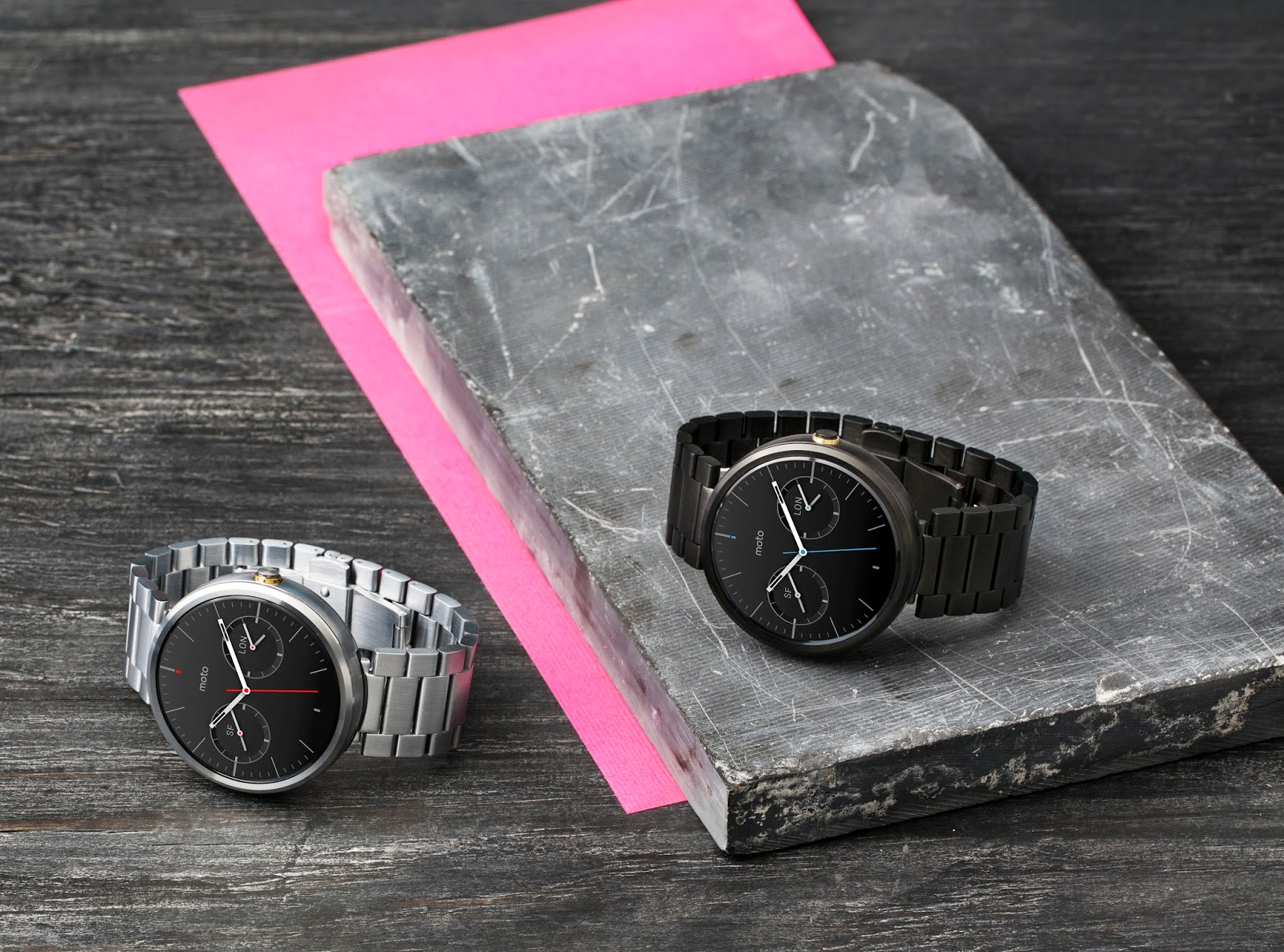Moto 360: Choose a watch that fits your style