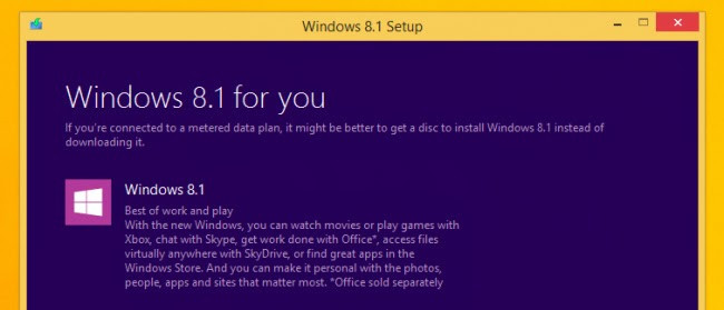 windows 8.1 setup screen print 3