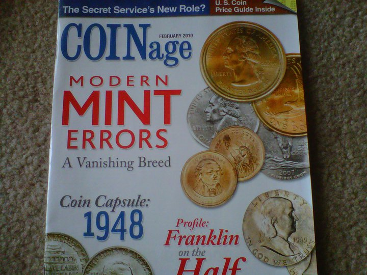 My major February 2010 COINage interview, alongside best-selling author Ronald Kessler