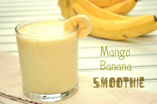 Mango Banana Smoothy