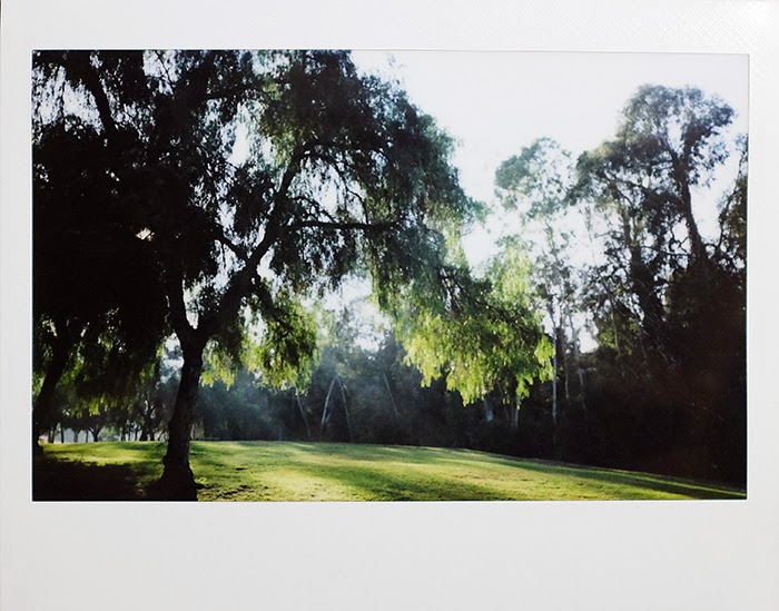 instax wide 210 Schabarum park