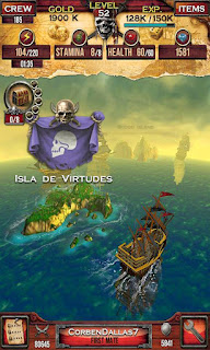 Screenshots of the Pirates of the Caribbean. Master of the seas for Android tablet, phone.