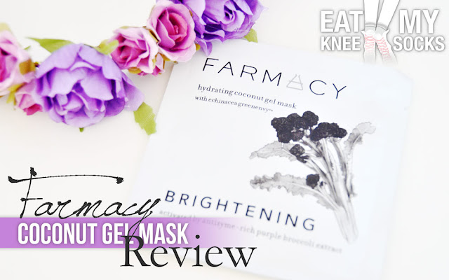 Today I'll be reviewing the brightening hydrating coconut gel mask from Farmacy! -Eat My Knee Socks/Mimchikimchi