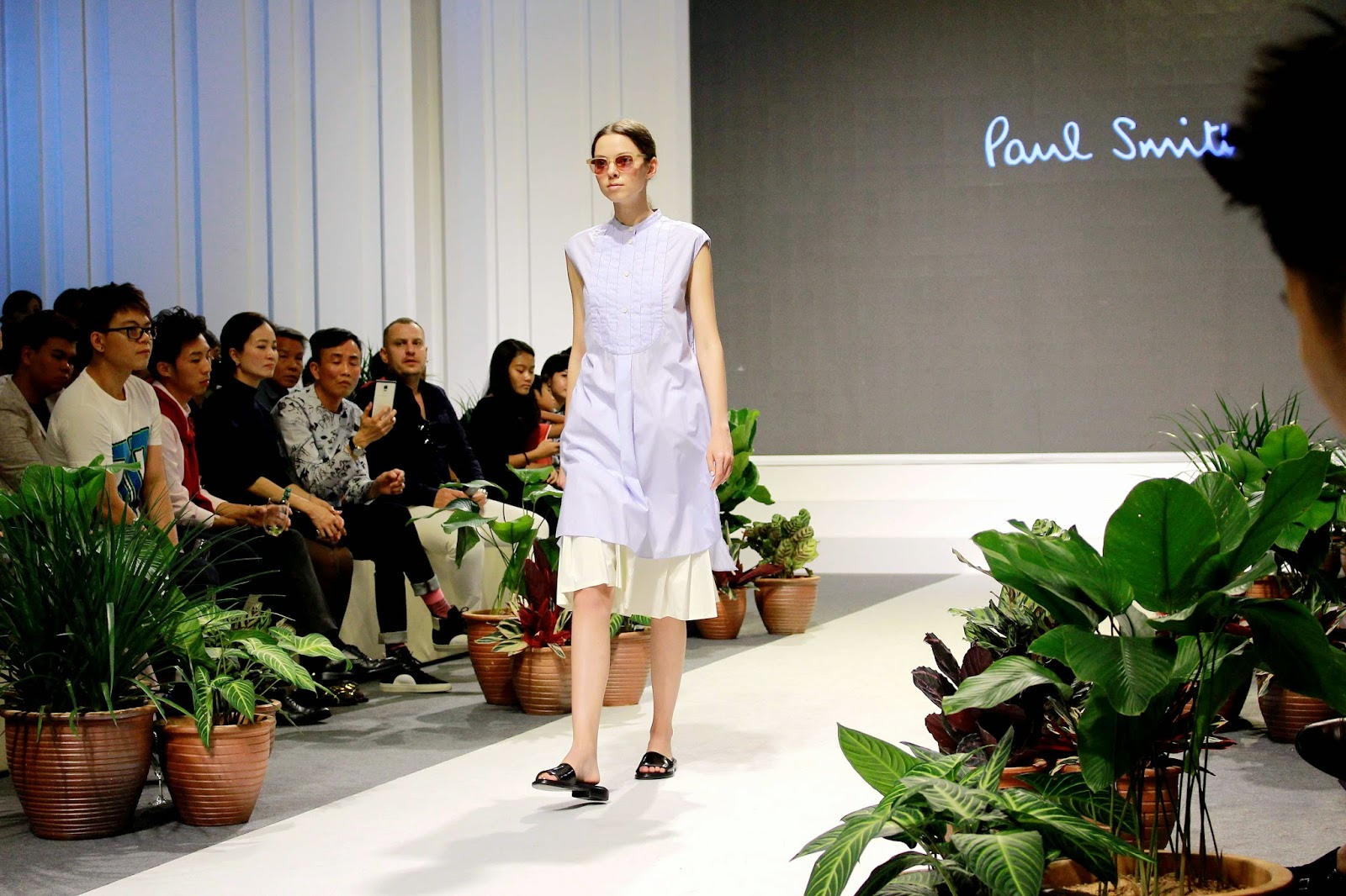 Mr Brian See Paul Smith Spring Summer 2015 Fashion Show Pavilion Pitstop
