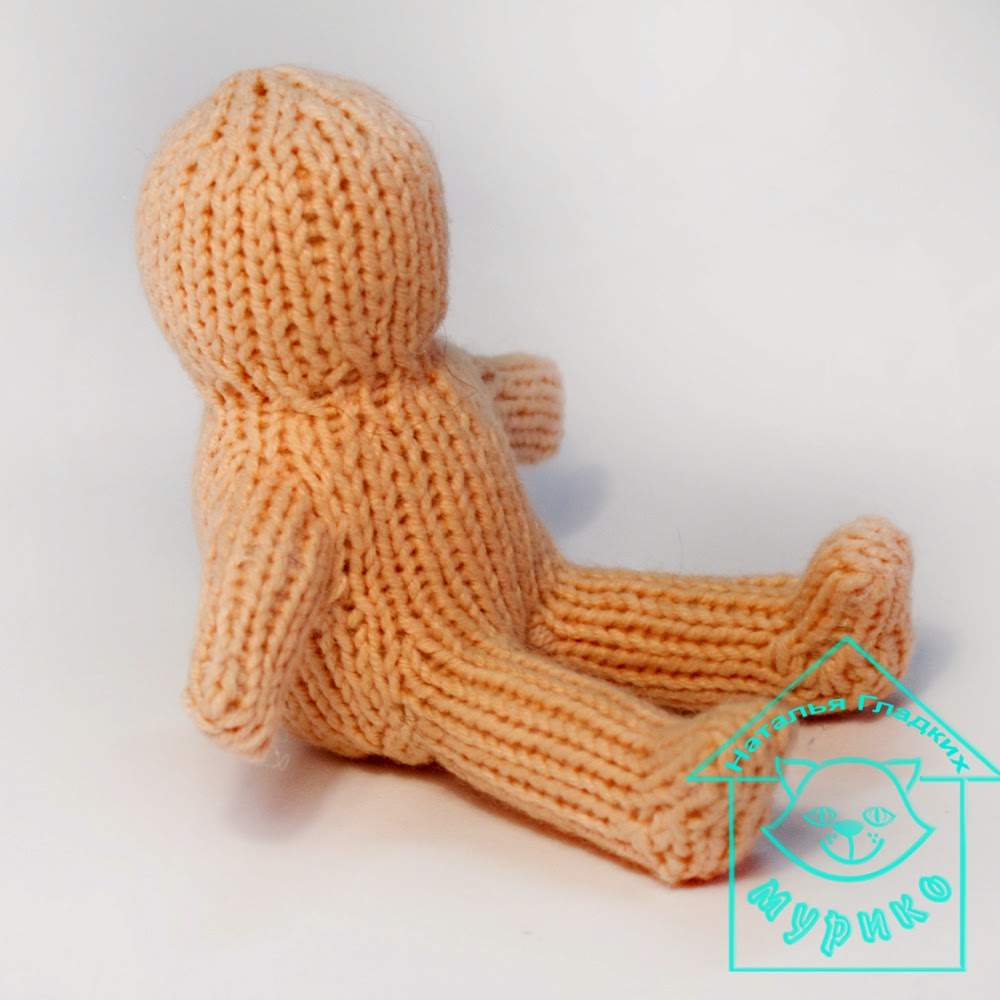 авторская вязанная игрушка, игрушка спицами, мк вязаная игрушка, мурико, авторская кукла, мотанка, народная кукла