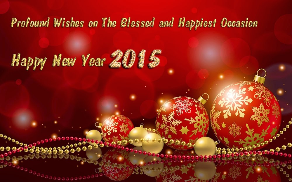 Beautiful Happy New Year Wishes 2015 eCards Images