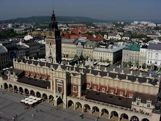 Il fondaco dei tessuti a Cracovia