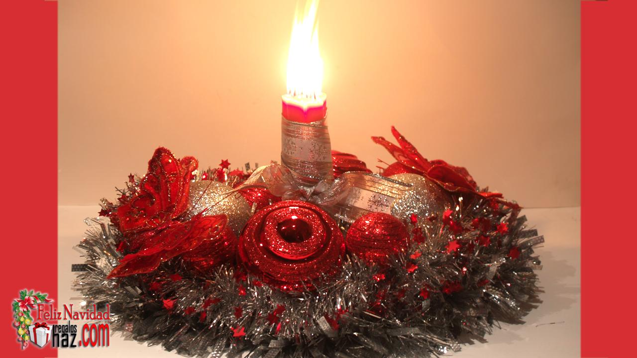 Haz regalos las mejores ideas para tus regalos centro de - Como hacer un centro de mesa navideno ...