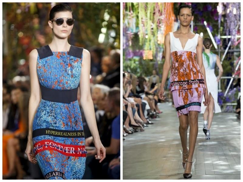 dior, LV, luis vuitton, DKNY, missoni, Alexander Wang, christopher kane, ahish, kenzo, word trend, spring 2014