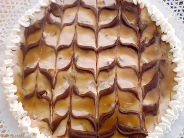 dibujo de caramelo y chocolate