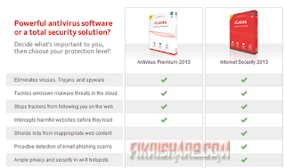 Avira Antivirus Premium + Avira Internet Security 2013 13.0.0.2761 Full Key 2013