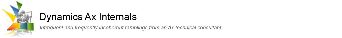 Dynamics Ax Internals