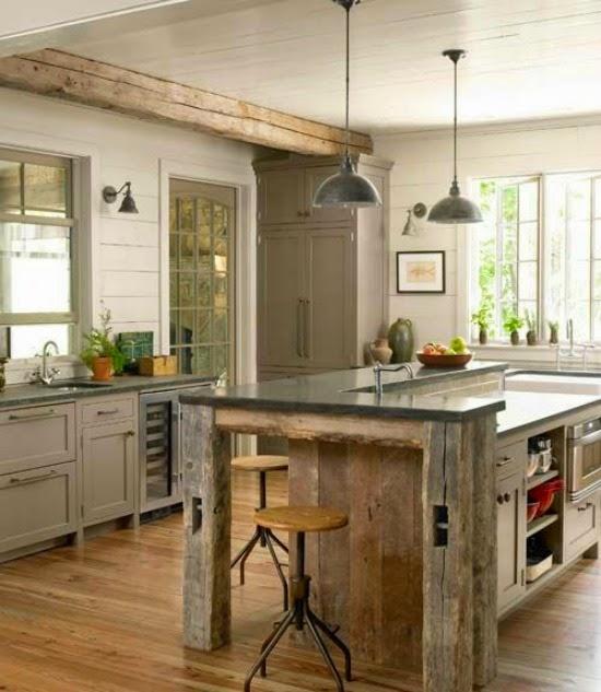 Mesas en la cocina | El Taller de la Brocha y el Pincel