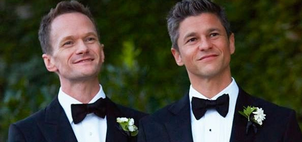 Neil Patrick Harris 'matrimonio all'italiana' con il compagno David Burtka