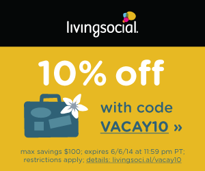 Living Social 10% Off Coupon