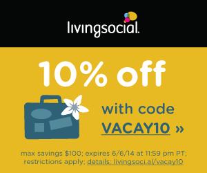 Living Social 10% Off Coupon