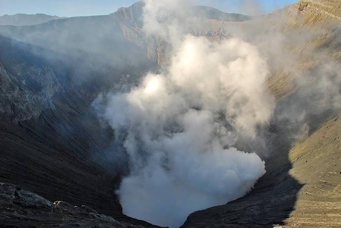 Interior del cráter