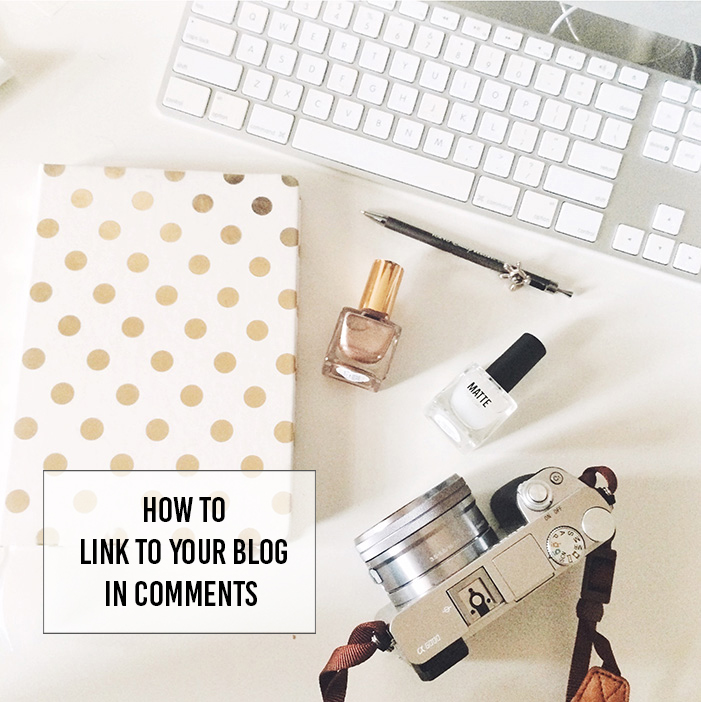 Use this easy bit of code to link to your blog in comments!