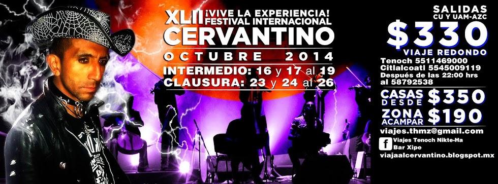 Viaja al Cervantino 2014