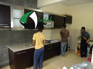 New dream house experience 2016 kitchen set minimalis for Pemasangan kitchen set
