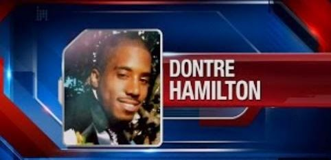 Dontre Hamilton was killed by a cop who was fired for his actions but not charged. (Screen capture from YouTube video)