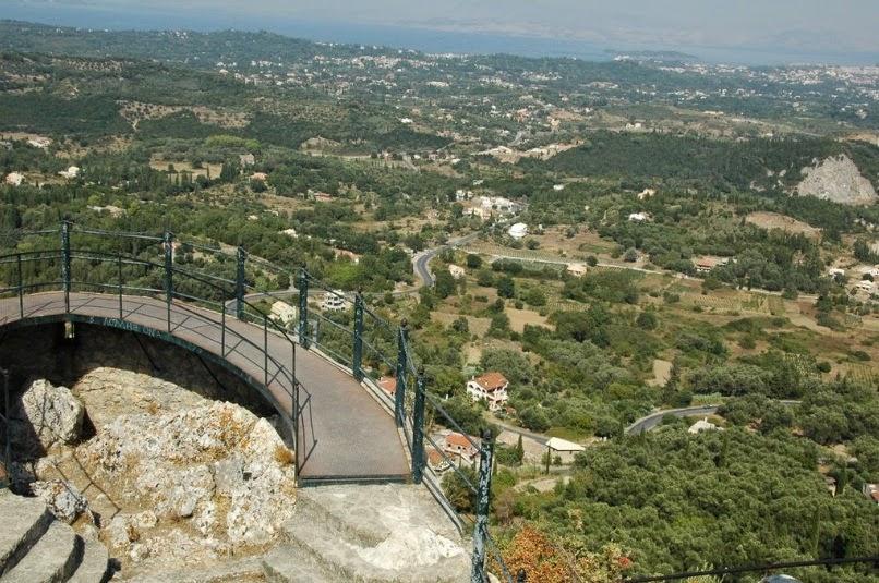 панорама Корфу