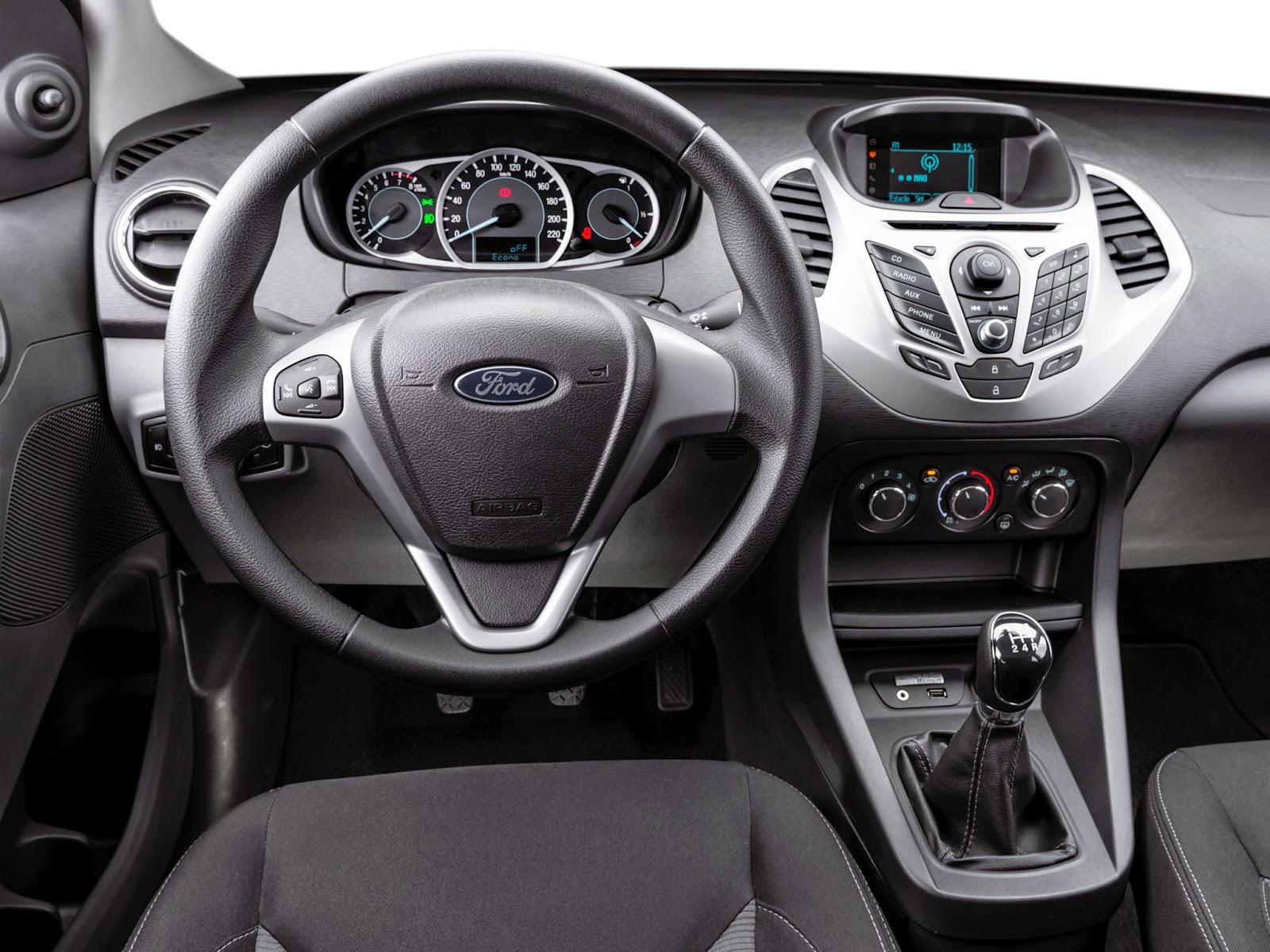 Segredo: Novo Ford Ka acompanha aplicativo para achar estacionamentos próximos!