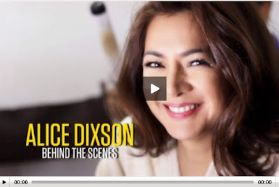 ALICE DIXSON Behind the Scene Video
